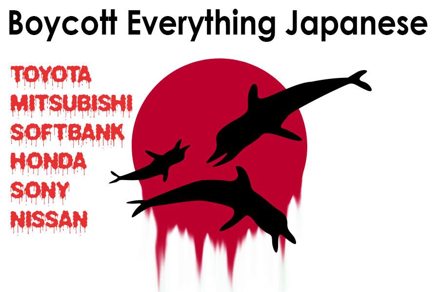 Boycott everything Japanese Including the 2021 Olympics